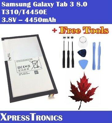 Samsung Galaxy Tab 3 8.0 Replacement Battery T310/T4450E + Repair Tools
