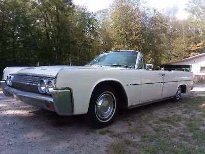 1963 Lincoln Continental Convertible suicide doors 1963  Lincoln  continental convertible suicide doors