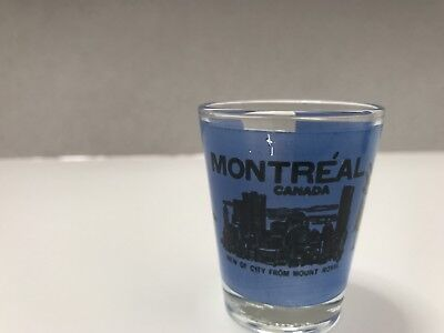 Montreal Canada  - Vintage Shot Glass - Very Rare