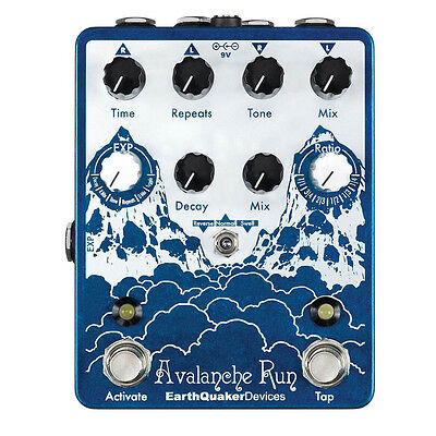 Earthquaker Devices Avalanche Run Delay Reverb Pedal - AUSTRALIAN DEALER