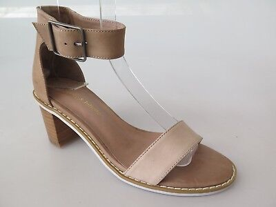 Django & Juliette - new ladies leather sandal size 37 #31