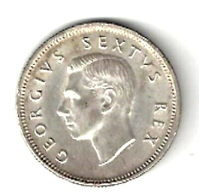 South Africa - Shilling, 1950 - Silver, Nice Condition