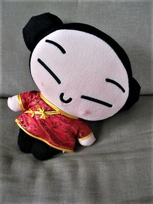 "PUCCA Japanese  Anime11"" Tall Plush Stuffed Doll,Hanger Big Head"