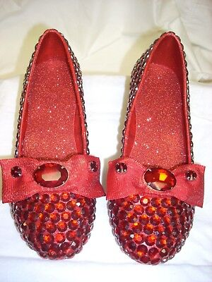 Return to Oz - Replica Ruby Slippers - Display Quality - Collector Level