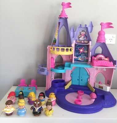 Fisher Price Little People Musical Interactive Disney Princess Castle