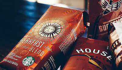 Starbucks Coffee Whole Beans 250g - Whole or Grounded