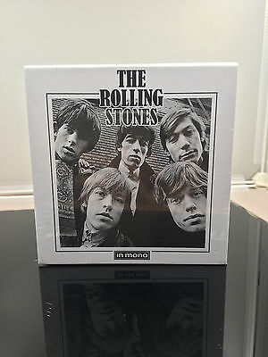 Factory Sealed The Rolling Stones In Mono 15CD Box Set Hot CD Free shipping