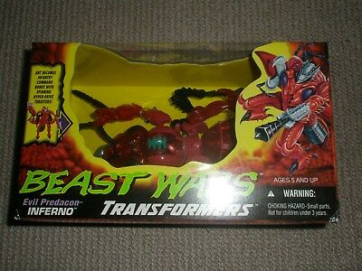 Transformers Evil Predacon - Inferno - Never removed from box - Rare