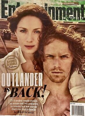 Entertainment Weekly Exclusive Collector's Cover Edition: Outlander Is Back!