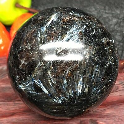 "A9352-286g/NATURAL Astrophyllite Quartz Crystal ""Fireworks stone"" Sphere Ball"