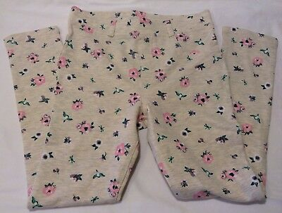 NWOT H&M Girl's Jeggings Pink Floral Size 7-8 Years