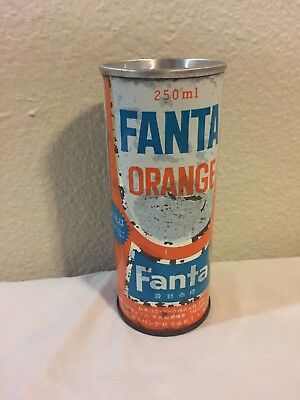 Coca Cola Fanta orange can 60's