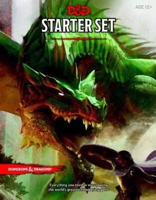 Dungeons and Dragons Starter Set 5th Edition Dice Fantasy Roleplaying D&D Sealed