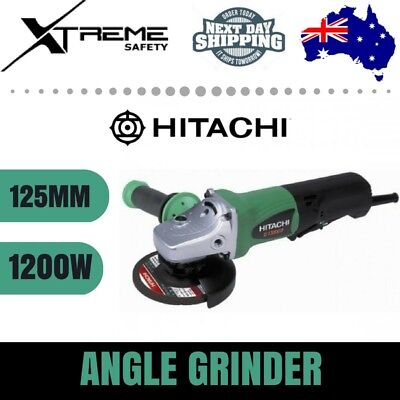 HITACHI 240V 1200W Motor 125mm Heavy Duty Angle Grinder