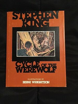 Cycle Of The Werewolf By Stephen King (Extremely Rare) (Make An Offer!)