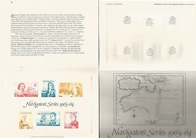 Australia Reproduction Stamps. Replica Card 3, Navigator Series. See Scan.