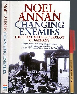 WWII CHANGING ENEMIES Noel Annan Germany & Hitler Defeat & Post-War ally!