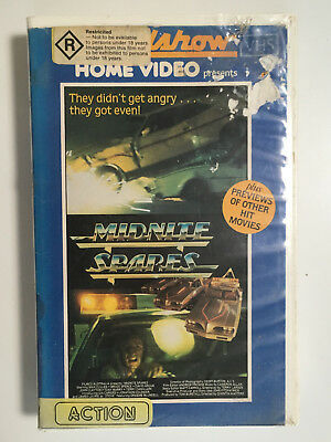 Midnight Spares VHS RARE Aussie Movie Valiant Ford Chrysler Holden etc featured