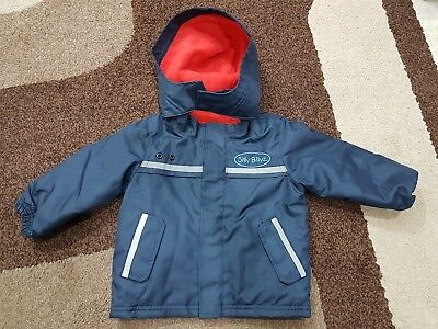 Childrens Silly Billyz hooded waterproof coat/jacket - worn once - size S