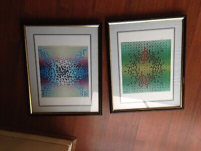 Painting Original Linoleum Prints X2
