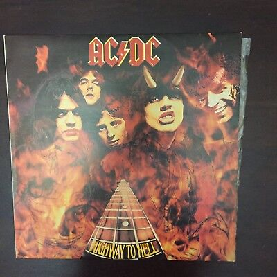 Vinyl Records  x 5  Inc AC/DC Highway to Hell and a double album
