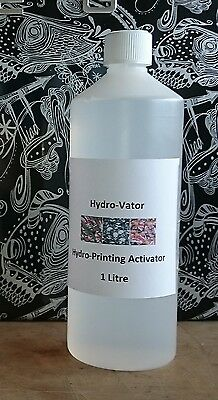 Hydro-Vator Activator 1 Litre Free Post Hydro Dipping Hydrographics