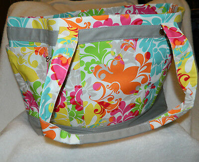 Thirty One Easy Breezy Tote - Island Damask - Free Shipping - New