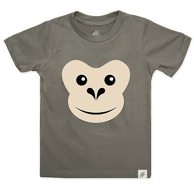 NEW Kid's chimpanzee t-shirt by Really Wild Child