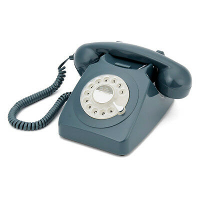 NEW Retro Rotary Dial Telephone (Various Colours) by PS Home and Living