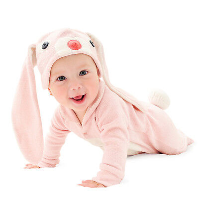 NEW Lil' pink bunny baby & toddler costume with hat Girl's by Lil' Creatures