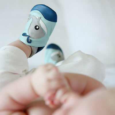 NEW Moby the whale baby shoes Boy's by Cheeky Little Soles