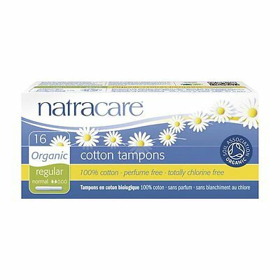 TAMPONS normal avec applicateur - Natracare - 16 pièce