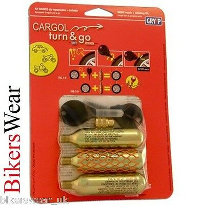 Oxford Cargol GRYYP Turn & Go Kit 3 Emergency Repair Kit 3 System For Tyres K007