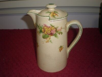 "Royal Doulton ""Wattle"" Hot Water Jug D5156 c.1931"