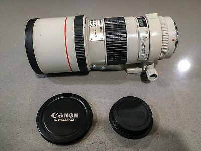 Canon EF 300mm F/4 L Prime Telephoto Lens With Tripod Mounting Collar +++