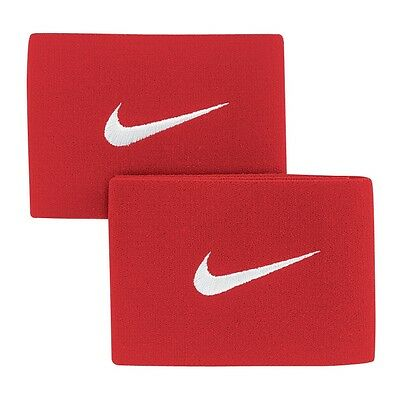 Guard Stays By Nike Uni Red New & Packaged 2 Stays In Each Set