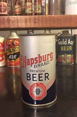 Hapsburg Brand Premium Beer #080-22 Flat Top Can, Best Brewing, 1952, 1/1+ Minty