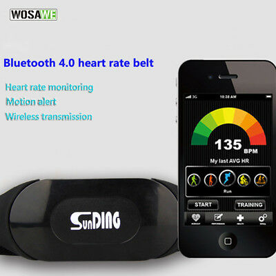 Wireless Bluetooth Heart Rate Belt Breathable Running Cycling Ultralight Monitor