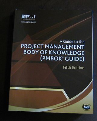 PMBOK Guide: A Guide to the Project Management Body of Knowledge 5th edition