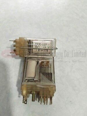 JRX-13F-1 DC12V R=170 Intermediate Relay 12VDC x 2pcs