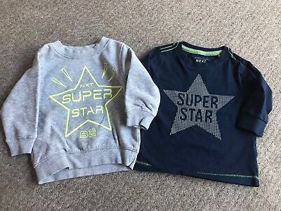 Next Boys Jumper Top 6-9 Months