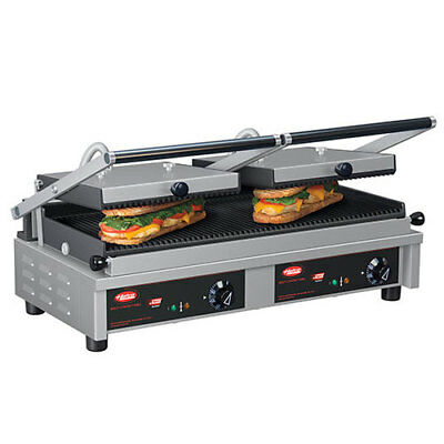 "Hatco MCG20G 20"" Multi Contact Grill Top & Bottom Grooved Plate Double"