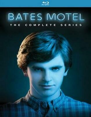 Bates Motel:complete Series - Blu-Ray Region 1 Free Shipping!