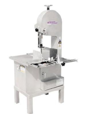 """German Knife GBS-270S 93"""" Stainless Meat Band Saw Floor Model 1.5 HP"""