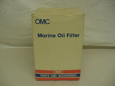 New NOS OMC Oil Filter 4.3L V6 GM Engines -  173834   C23
