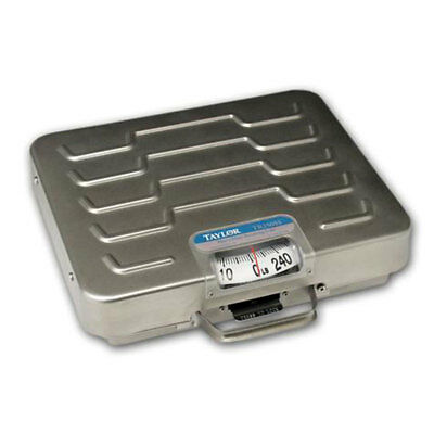 Taylor Precision Products TR250 250lb Mechanical Receiving Scale Stainless