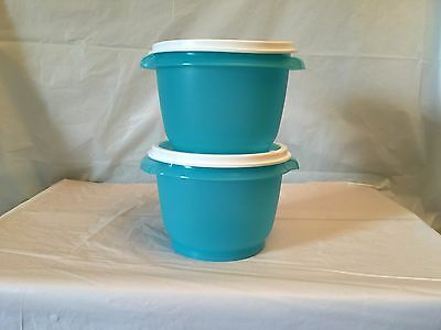 Brand New TUPPERWARE 20 OZ SERVALIER BOWL SET WITH INSTANT SEALS.