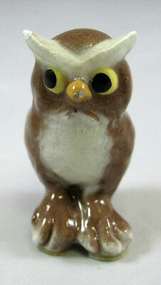 Hagen Renaker miniature made in America Wise Old Owl AI retired