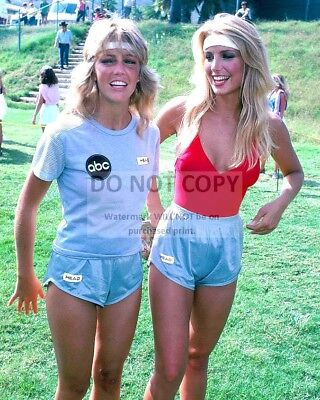 """Heather Locklear And Thomas """"battle Of The Network Stars"""" - 8X10 Photo (Zy-854)"""