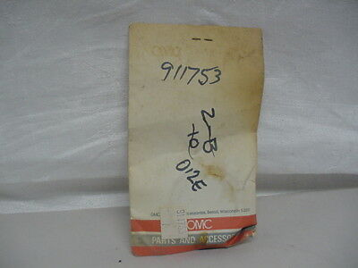 New NOS OMC Pinion Nut 911753  C23/C26